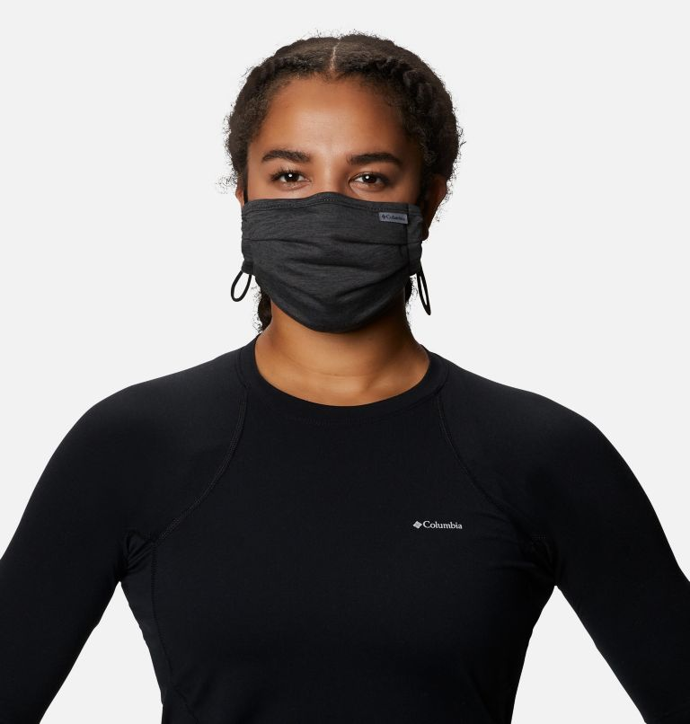 Tech Trail™ Face Mask | 012 | O/S Tech Trail™ Face Mask, Black, Shark, a1