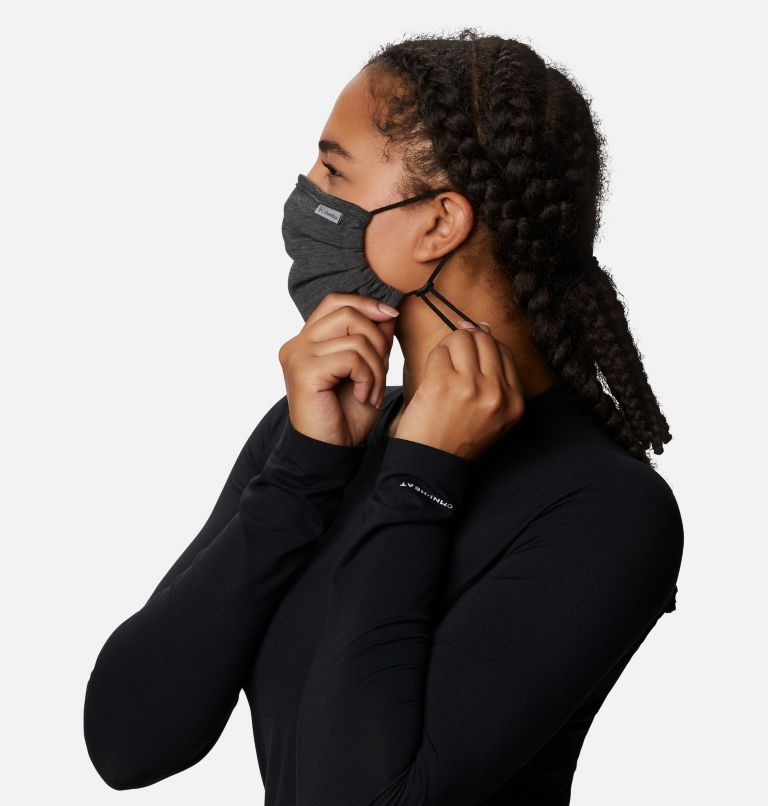 Tech Trail™ Face Mask | 012 | O/S Tech Trail™ Face Mask, Black, Shark, a3