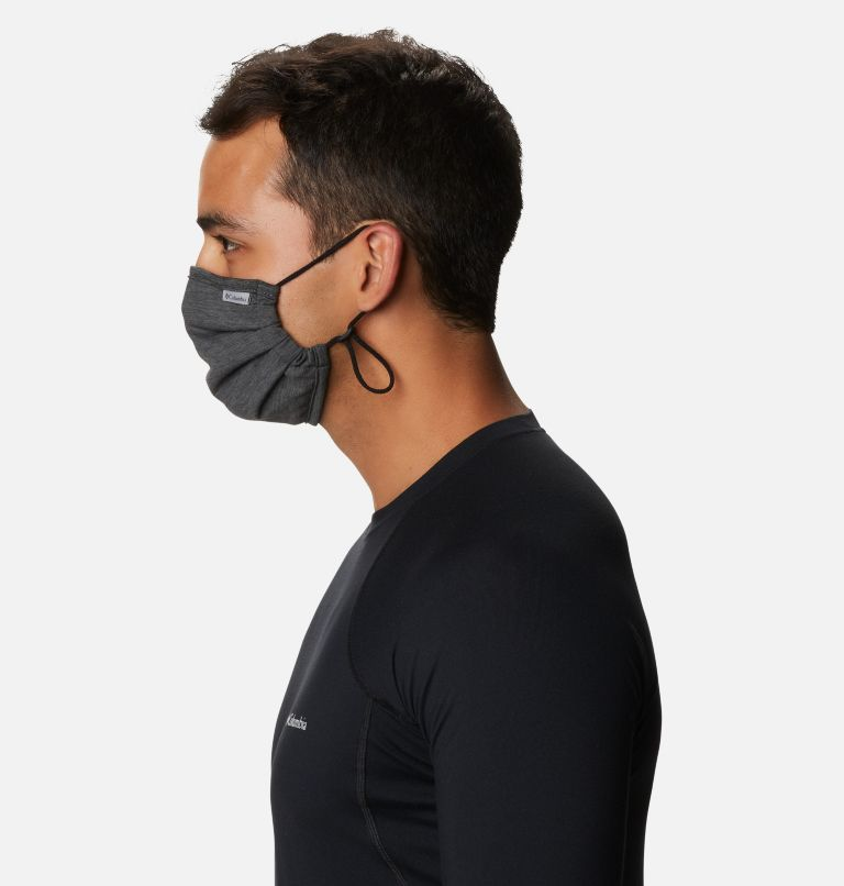 Tech Trail™ Face Mask | 012 | O/S Tech Trail™ Face Mask, Black, Shark, a4