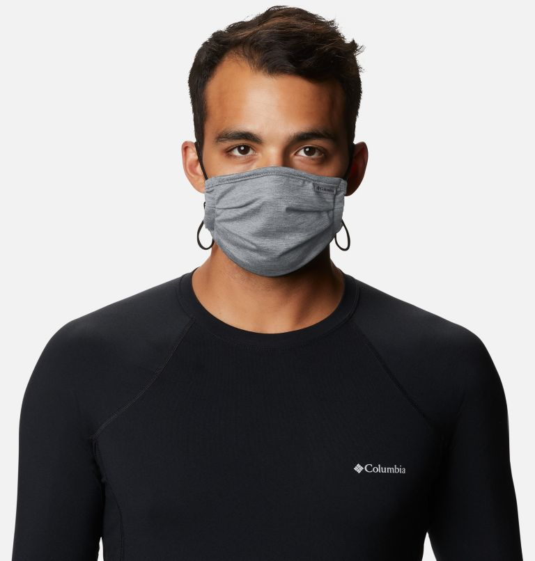 Tech Trail™ Face Mask | 099 | O/S Masque Tech Trail™, Slate Grey Heather, a2