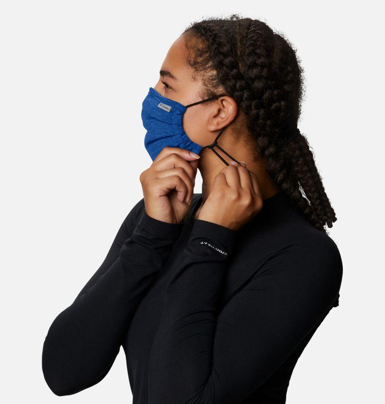 Tech Trail™ Face Mask | 437 | O/S Tech Trail™ Face Mask, Azul Heather, a3