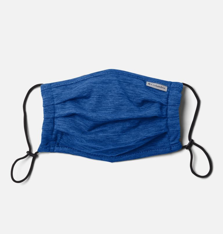 Tech Trail™ Face Mask | 437 | O/S Tech Trail™ Face Mask, Azul Heather, front