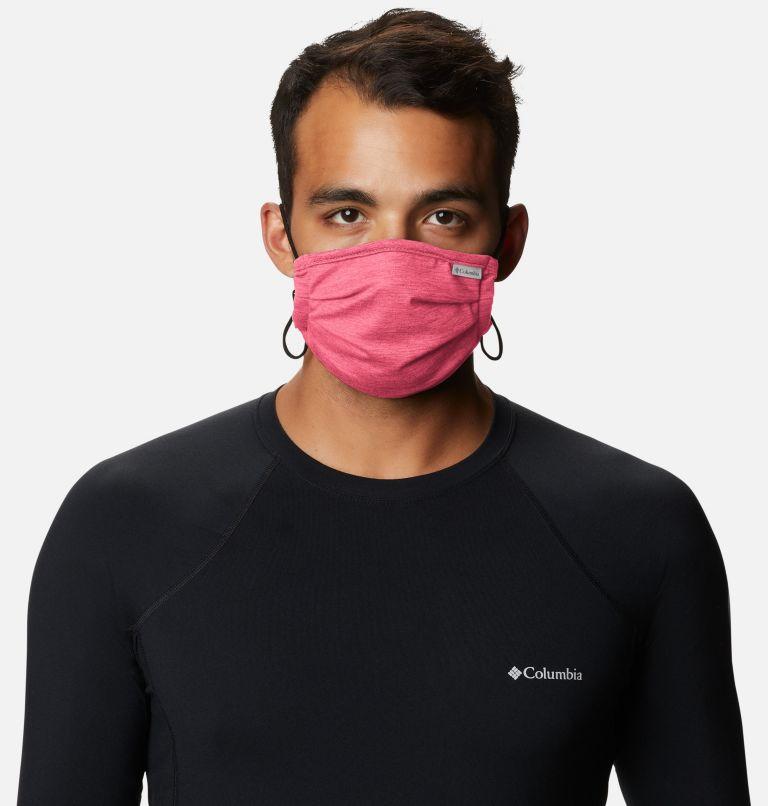 Tech Trail™ Face Mask | 673 | O/S Tech Trail™ Face Mask, Bright Geranium Heather, a3