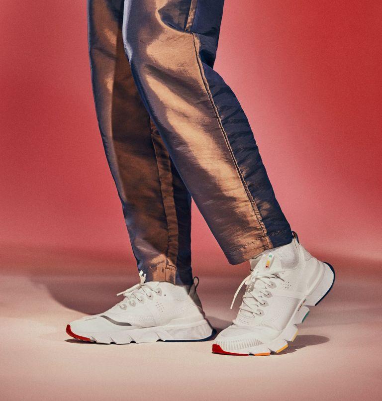 KINETIC™ RUSH | 100 | 8 Mens Kinetic™ Rush Sneaker, White, White, 3/4 front
