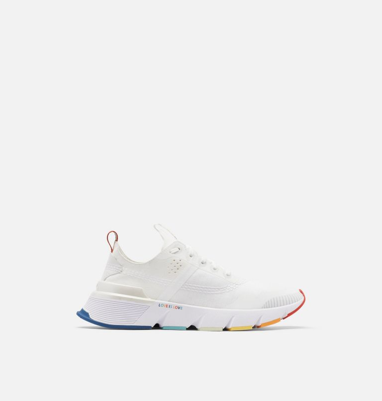 KINETIC™ RUSH | 100 | 8 Mens Kinetic™ Rush Sneaker, White, White, front