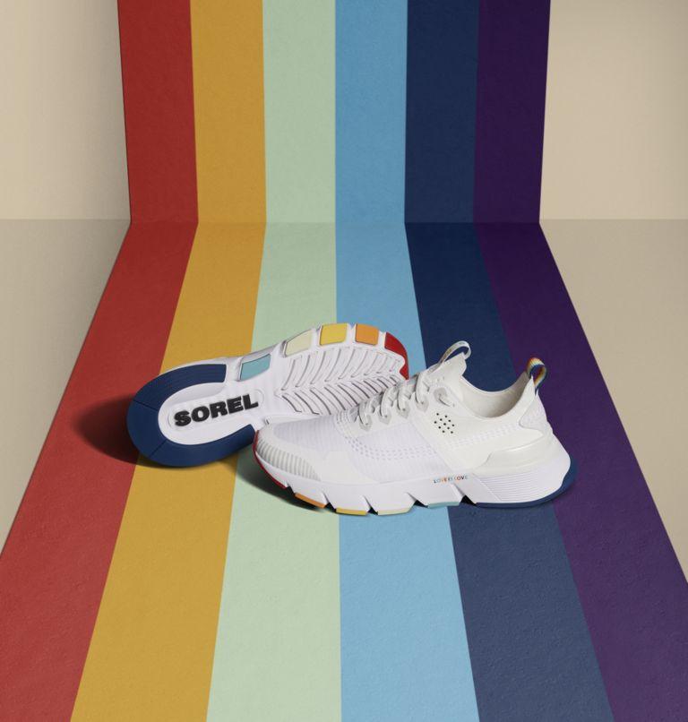 KINETIC™ RUSH | 100 | 7.5 Womens Kinetic™ Rush Sneaker, White, White, medial