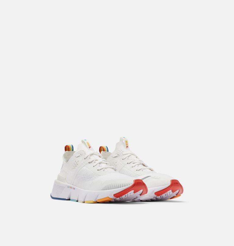 KINETIC™ RUSH | 100 | 7.5 Womens Kinetic™ Rush Sneaker, White, White, top