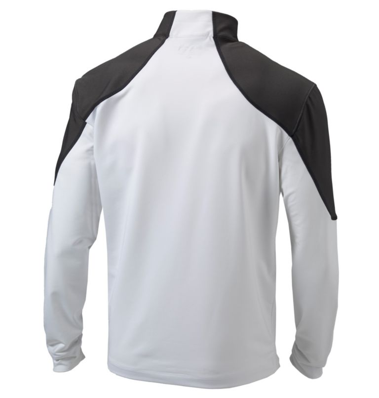 Men's Omni-Wick™ Panel 1/4 Zip Pullover Men's Omni-Wick™ Panel 1/4 Zip Pullover, back