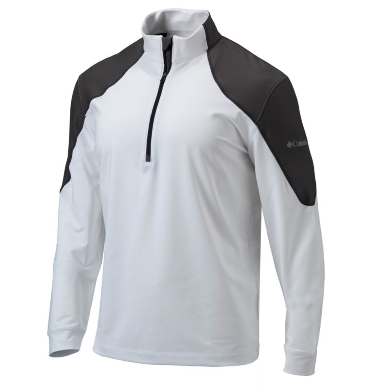 Men's Omni-Wick™ Panel 1/4 Zip Pullover Men's Omni-Wick™ Panel 1/4 Zip Pullover, front