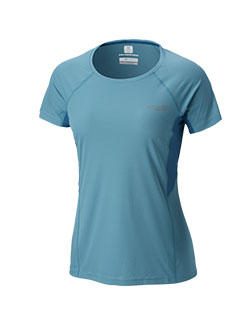 Light blue Titan Ultra Short Sleeve Shirt.