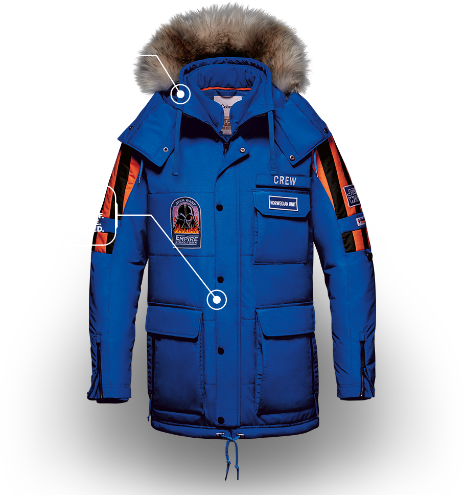 Exclusive Star Wars Jacket | Columbia Sportswear
