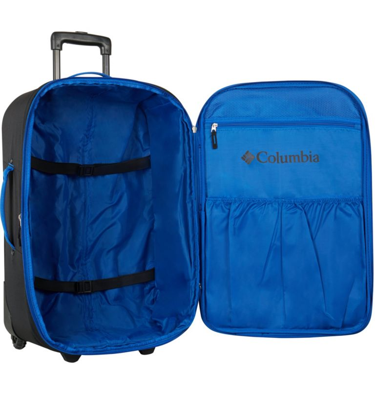 """Summit Point 24"""" Expandable 2    010   O/S Summit Point 24 Inch Expandable 2-Wheel Duffel, Black, a1"""