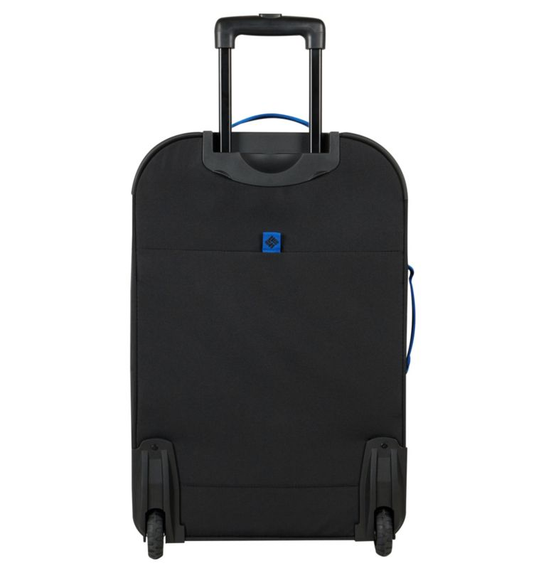 """Summit Point 24"""" Expandable 2    010   O/S Summit Point 24 Inch Expandable 2-Wheel Duffel, Black, back"""