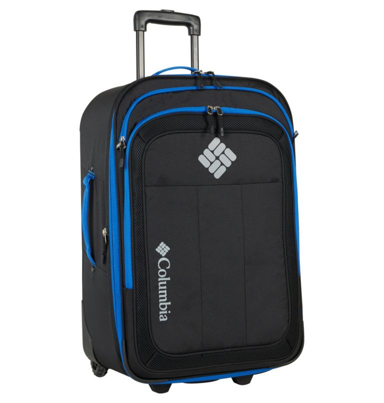 """Summit Point 24"""" Expandable 2    010   O/S Summit Point 24 Inch Expandable 2-Wheel Duffel, Black, front"""