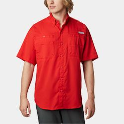 A short sleeve fishing shirt