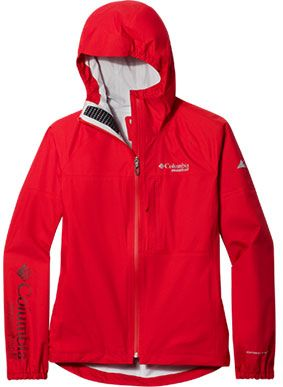 Close-up of a Rogue Runner Wind Jacket for women.