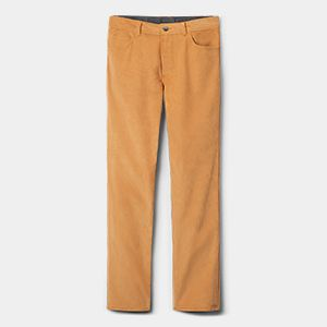 Pair of mustard pants.