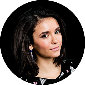 A portrait of Nina Dobrev