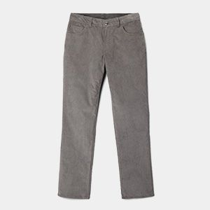 Pair of grey pants.