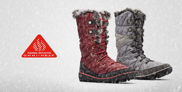 Winter boots for women. Omn-Heat logo.