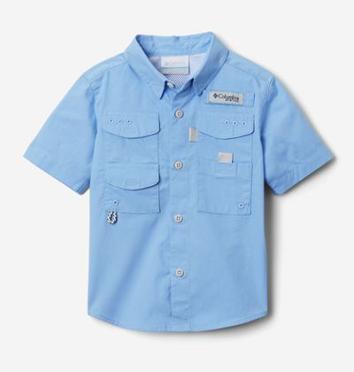A kids' short sleeve PFG shirt.