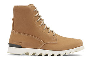 A men's Lace-Up boot on a white background