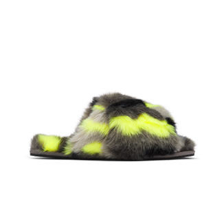 The mail run slipper on a white background