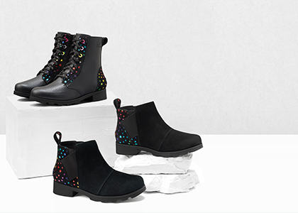An Kids' Emelie Chelsea boot