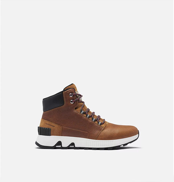 A men's lace-up boot