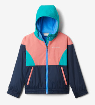 Colorful kids windbreaker