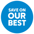 Save On Our Best badge