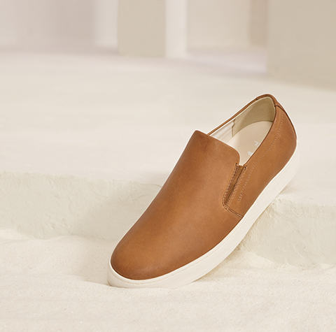 A men's slip on shoe
