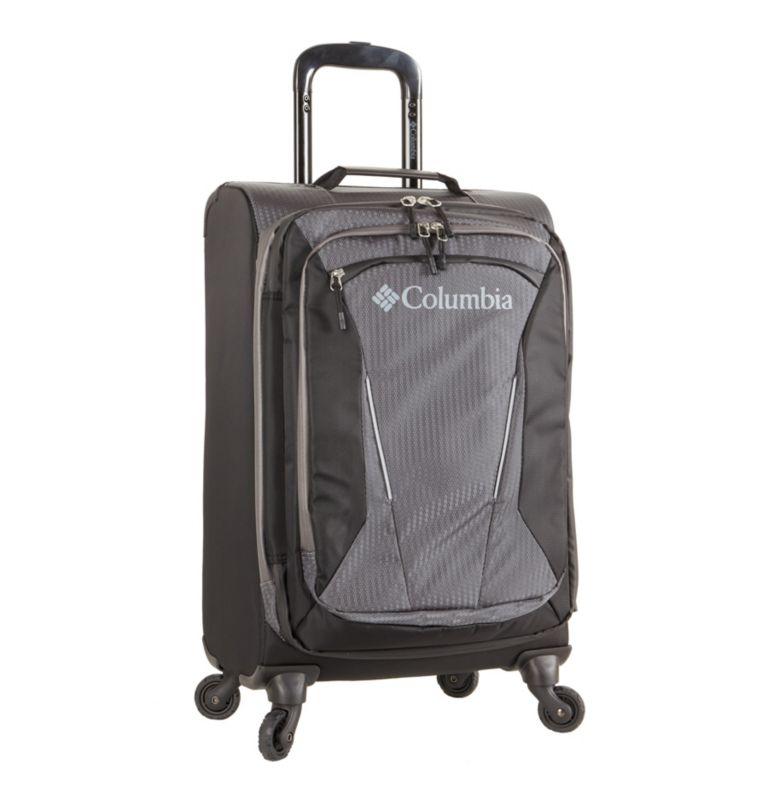 "Kiger 21"" 4 Wheel Spinner | 010 | O/S Kiger Upright 21 Inch 4-Wheel Spinner Suitcase, Black, Grey, front"
