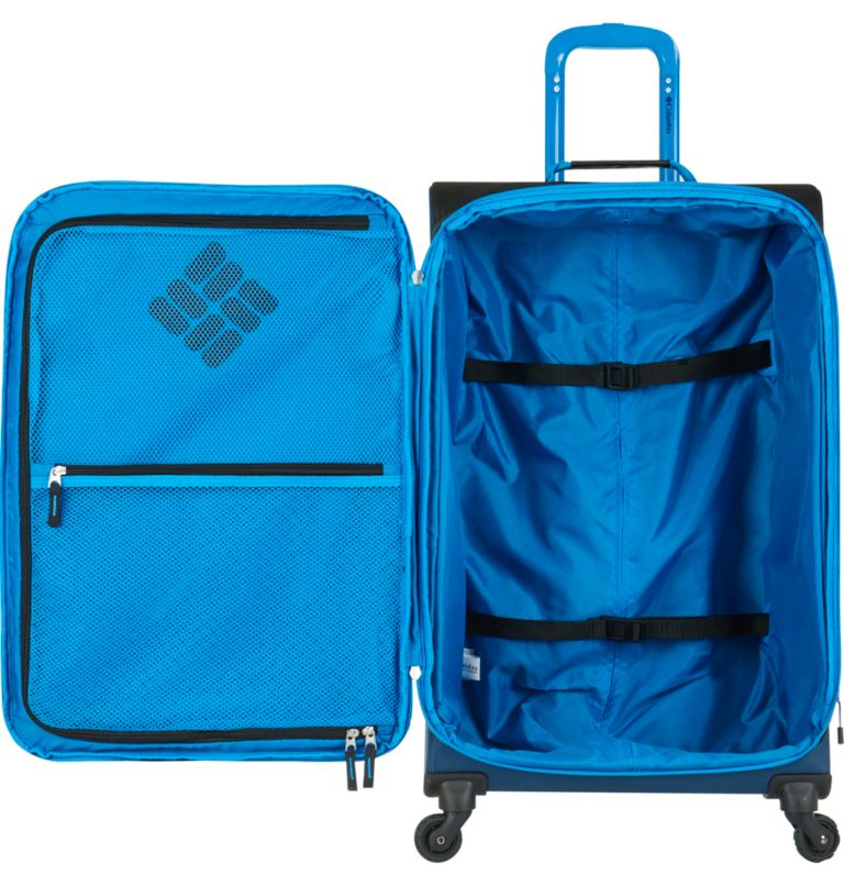 Kiger Upright 4 wheel Spinner  | 416 | O/S Kiger Upright 21 Inch 4-Wheel Spinner Suitcase, Navy, a1