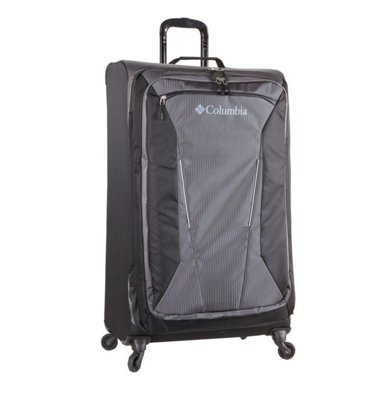 "Kiger 31"" 4 Wheel Spinner   010   O/S Kiger Upright 31 Inch 4-Wheel Spinner Suitcase, Black, Grey, front"