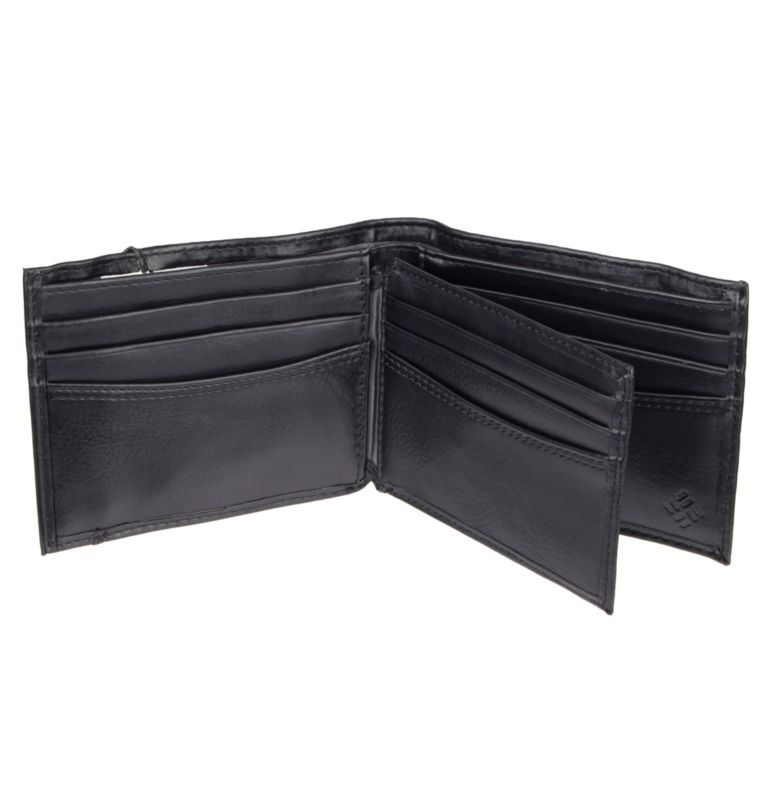 Men's Crystal Springs RFID Sli | 010 | NONE Men's Crystal Springs RFID X-Capacity Slimfold Wallet, Black, back