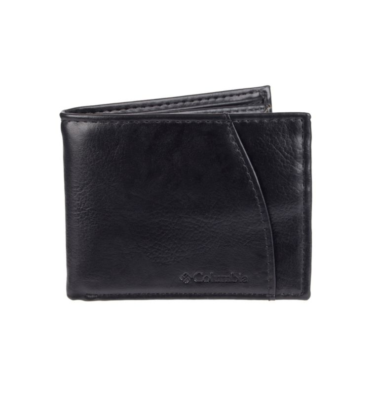 Men's Crystal Springs RFID Sli | 010 | NONE Men's Crystal Springs RFID X-Capacity Slimfold Wallet, Black, front