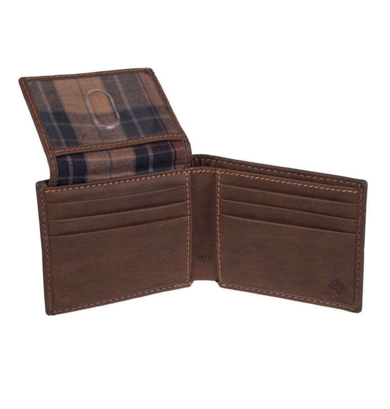 Men's Teton RFID Passcase Wallet | 200 | O/S Men's Teton RFID Passcase Wallet, Brown, a1