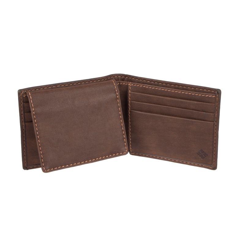 Men's Teton RFID Passcase Wallet | 200 | O/S Men's Teton RFID Passcase Wallet, Brown, back