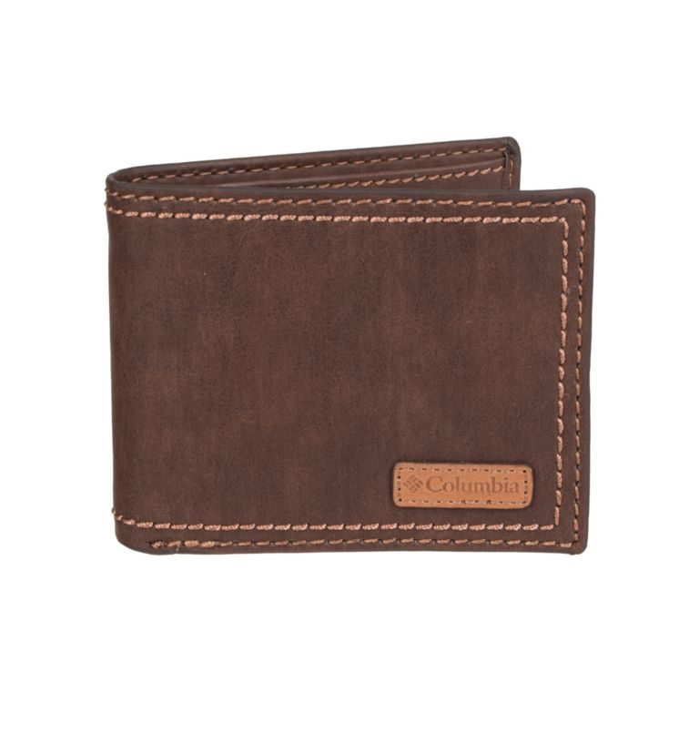 Men's Teton RFID Passcase Wallet | 200 | O/S Men's Teton RFID Passcase Wallet, Brown, front