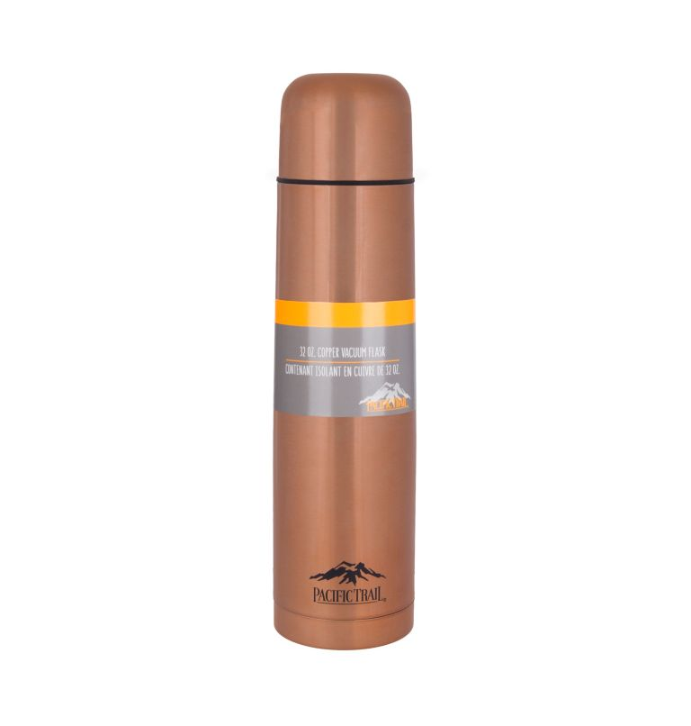 Insulated Bottle 1L | 247 | O/S Pacific Trail Insulated Bottle, Copper, front