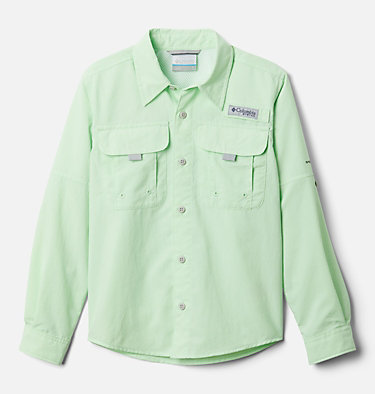 Boys' PFG Bahama™ Long Sleeve Shirt Bahama™ Long Sleeve Shirt | 479 | XL, Key West, front