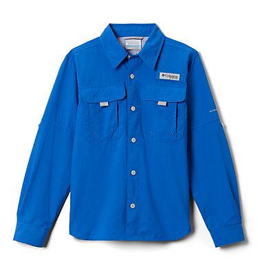 Boys' PFG Bahama™ Long Sleeve Shirt Bahama™ Long Sleeve Shirt   479   XL, Vivid Blue, front