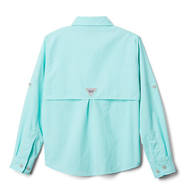 Boys' PFG Bahama™ Long Sleeve Shirt Bahama™ Long Sleeve Shirt   479   XL, Gulf Stream, back