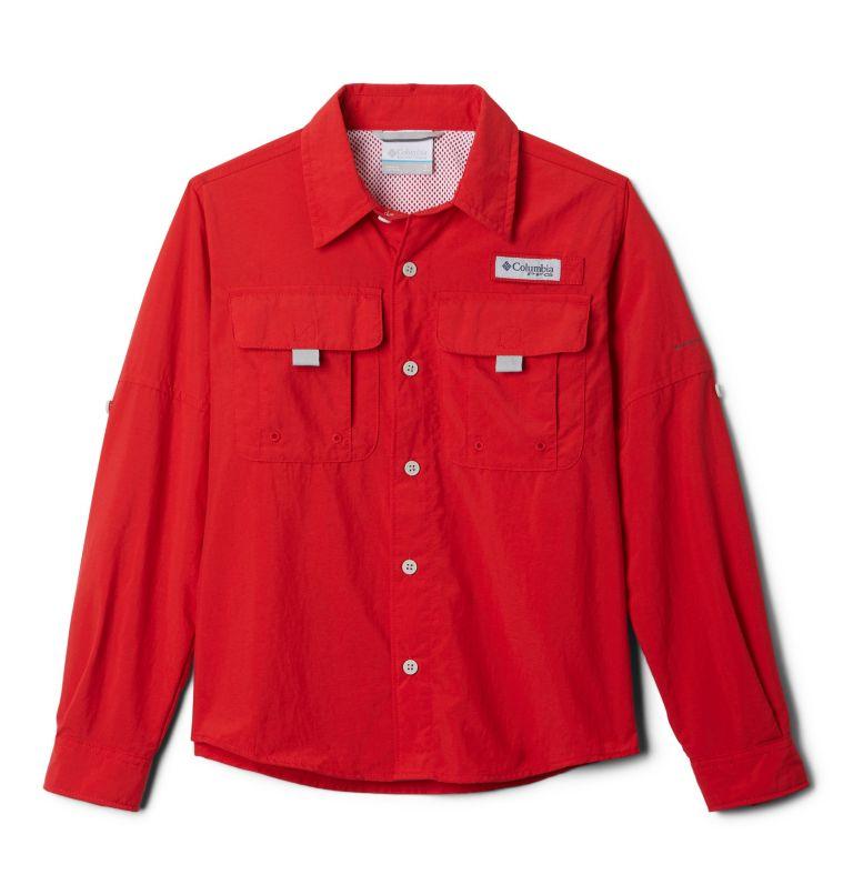 Bahama™ Long Sleeve Shirt | 696 | L Boys' PFG Bahama™ Long Sleeve Shirt, Red, front