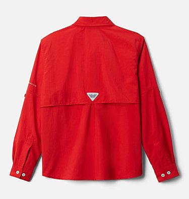 Boys' PFG Bahama™ Long Sleeve Shirt Bahama™ Long Sleeve Shirt | 479 | XL, Red Spark, back