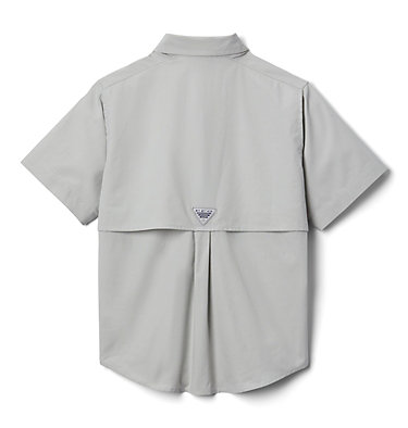 Boys' PFG Bonehead™ Short Sleeve Shirt Bonehead™ Short Sleeve Shirt   019   M, Cool Grey, back