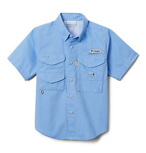 Boys' PFG Bonehead™ Short Sleeve Shirt