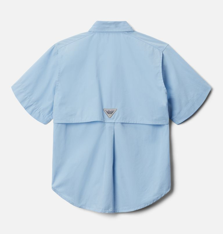 Bonehead™ Short Sleeve Shirt | 483 | XXS Boys' PFG Bonehead™ Short Sleeve Shirt, Sail, back