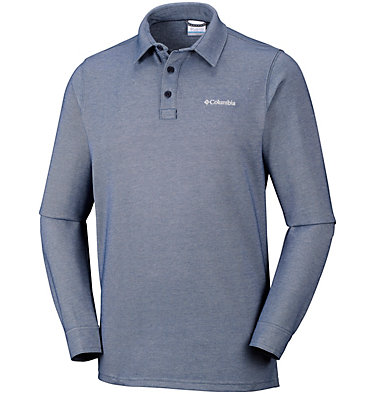 Men's Pilot Peak™ Long Sleeve Polo , front